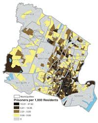 map of essex county nj miscounting prisoners complicates census portrait of jersey