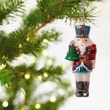 traditional nutcracker blown glass ornament specialty ornaments