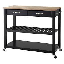 kitchen cart and island wood top kitchen cart island with optional stool storage