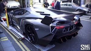 Lamborghini Veneno Drifting - lamborghini veneno concept arrives in london for the 1st time
