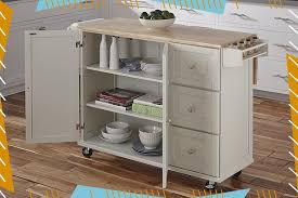 kitchen storage cabinet cart the 10 best kitchen carts for counter space and