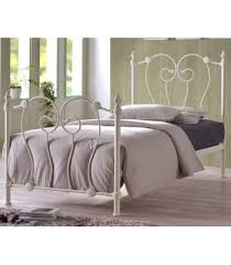 elizabeth black and antique brass finished traditional bed