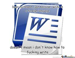 Microsoft Word Meme - microsoft word by akbarmna meme center