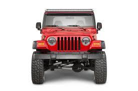 led light bar jeep wrangler quadratec j5 led light bar with clearance cab lights