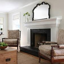 Ideas For Fireplace Facade Design Black Brick Fireplace Surround Design Ideas