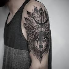 wolf tattoo images u0026 designs