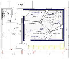 recording studio floor plans brilliant home recording studio