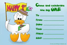 First Year Invitation Birthday Cards Birthday Invitations For 1 Year Old Boy Alanarasbach Com