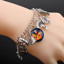 themed charm bracelet online shop heyu the outlander themed charm bracelet scottish