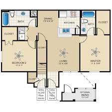 two bedroom homes floor plan home pool bedroom homes casita design affordable single