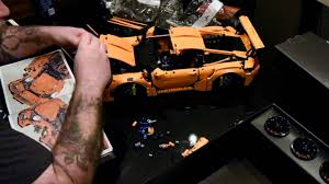 lego porsche 911 gt3 rs this lego porsche 911 gt3 rs build timelapse is insanely