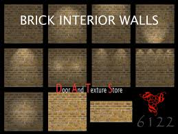 Interior Textures Second Life Marketplace Urban Brick Wall Textures Interior