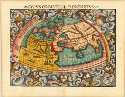 Old World Map Wallpaper by
