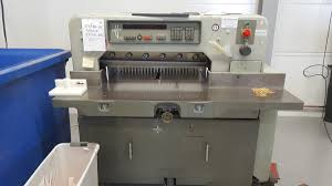 polar 76 em paper cutter guillotine pp machinery packaging