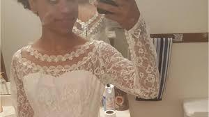 wedding dress donation iowa woman whose wedding dress was stolen gets donation from