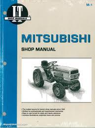 mitsubishi tractor manuals repair manuals online