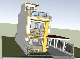 two house designs two storey house with roof deck