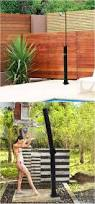 How To Build An Outdoor Shower Enclosure - the 25 best outdoor shower fixtures ideas on pinterest outdoor