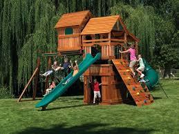backyard playground kits plans do it yourself
