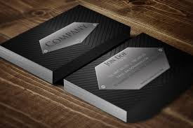 Biz Card Template Stylish Black Business Card Template Businesscardszone