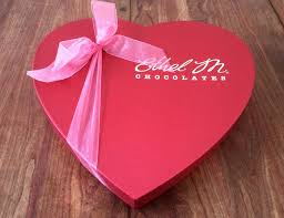 valentines day present expert ethel m chocolates heart gift box
