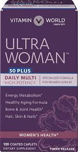 vitamins for hair over 50 ultra woman 50 plus at vitamin world