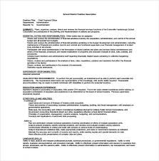 Cfo Resume Executive Summary Chief Marketing Officer Job Description Chief Financial Officer