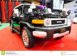international toyota toyota fj cruiser 4x4 car on thailand international motor expo