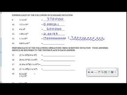 physics scientific notation worksheet free worksheets library
