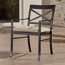 Outdoor Patio Dining Chairs Save On Outdoor Patio Dining Furniture Crate And Barrel