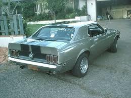 1969 mustang rear 1965 1973 mustang spoiler trunks integrated rear spoiler
