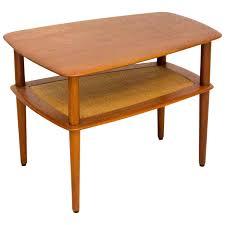 drop leaf coffee tables solid teak drop leaf coffee table by peter hvidt for john stuart