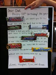 cute birthday card idea with candy bars i u0027m doing this for my dad