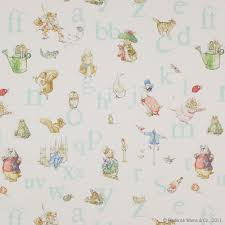 Winnie The Pooh Nursery Curtains by Alphabet Beatrix Potter Fabric Cowtan Design Library For The