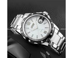 Jam Tangan Alba Pria skmei jam tangan pria cowok analog stainless steel seiko casio water