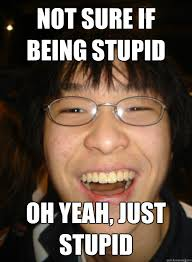 Stupid Boy Meme - swimming is for pussies perfect socially successful chinese boy