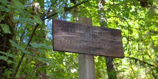 Fall Creek Falls Map Fall Creek Falls National Recreation Trail Hiking In Oregon