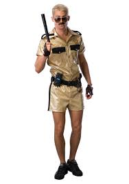 referee halloween costume party city lt dangle deluxe costume funny halloween reno 911 costumes