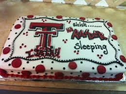 Baby Shower Cakes Houston Texas Texas Tech Baby Shower Cake Cakes Pinterest Texas Tech