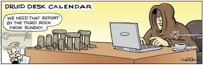 Desk Calendars Cartoons And Comics Funny Pictures From Cartoonstock
