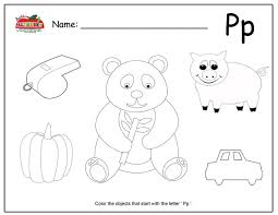 letter p activities preschool lesson plans