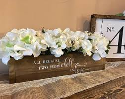 white flower centerpieces flower centerpieces etsy