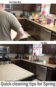cleaning tips for kitchen quick cleaning tips for spring daddy by day