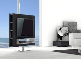 Modern Furniture Tv Stand by Braga Rotating Tv Stand Swivel Base Available At Decorium Us Mod
