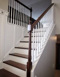 Wood Banisters And Railings Stairs Extraordinary Wood Banisters Inspiring Wood Banisters