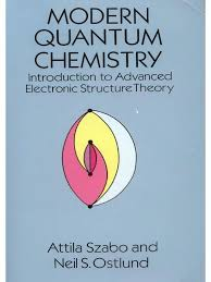 szabo and ostlund modern quantum chemistry an introduction to