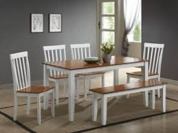 Brilliant White Kitchen Table And Chairs D For Decorating Ideas - White kitchen table with bench