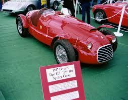 first ferrari race car airplane life the very first ferrari ever built