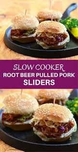 slow cooker root beer pulled pork sliders onion rings u0026 things