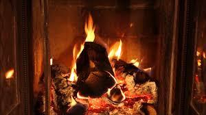 warmest log fire loop with real crackling burning sound